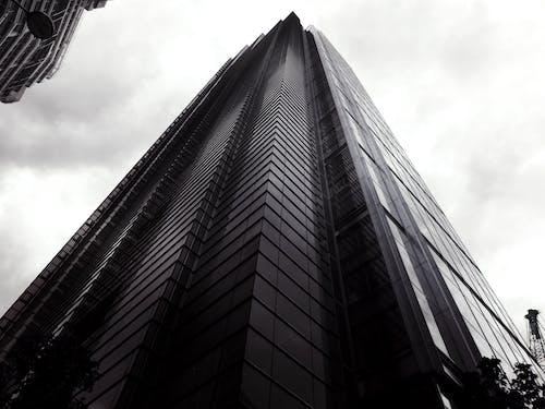Kostenloses Stock Foto zu abend, architektur, aufnahme von unten, büros