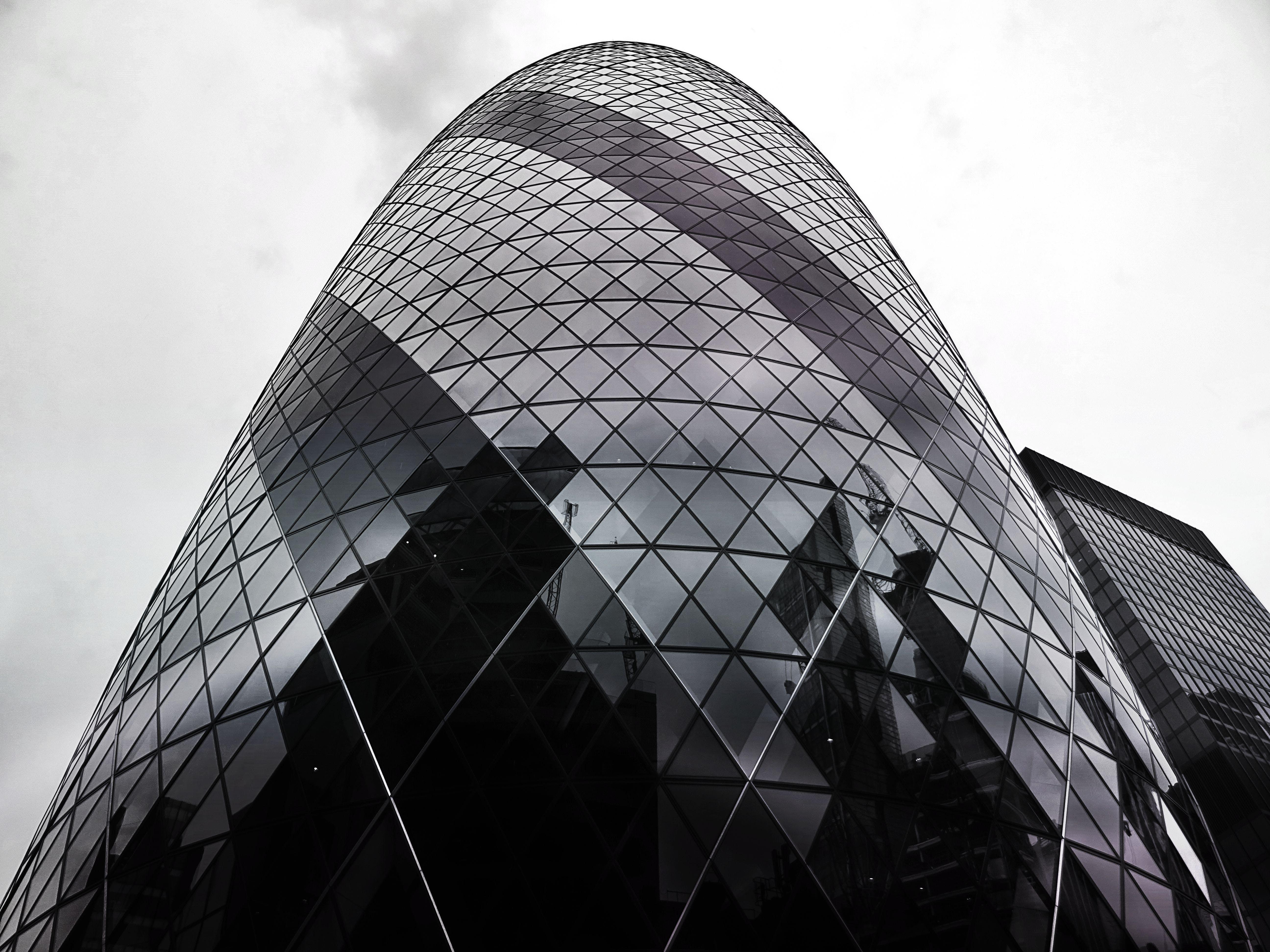 Black Building Under Sky