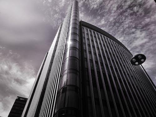 ガラス窓, シティ, スカイライン, ダウンタウンの無料の写真素材