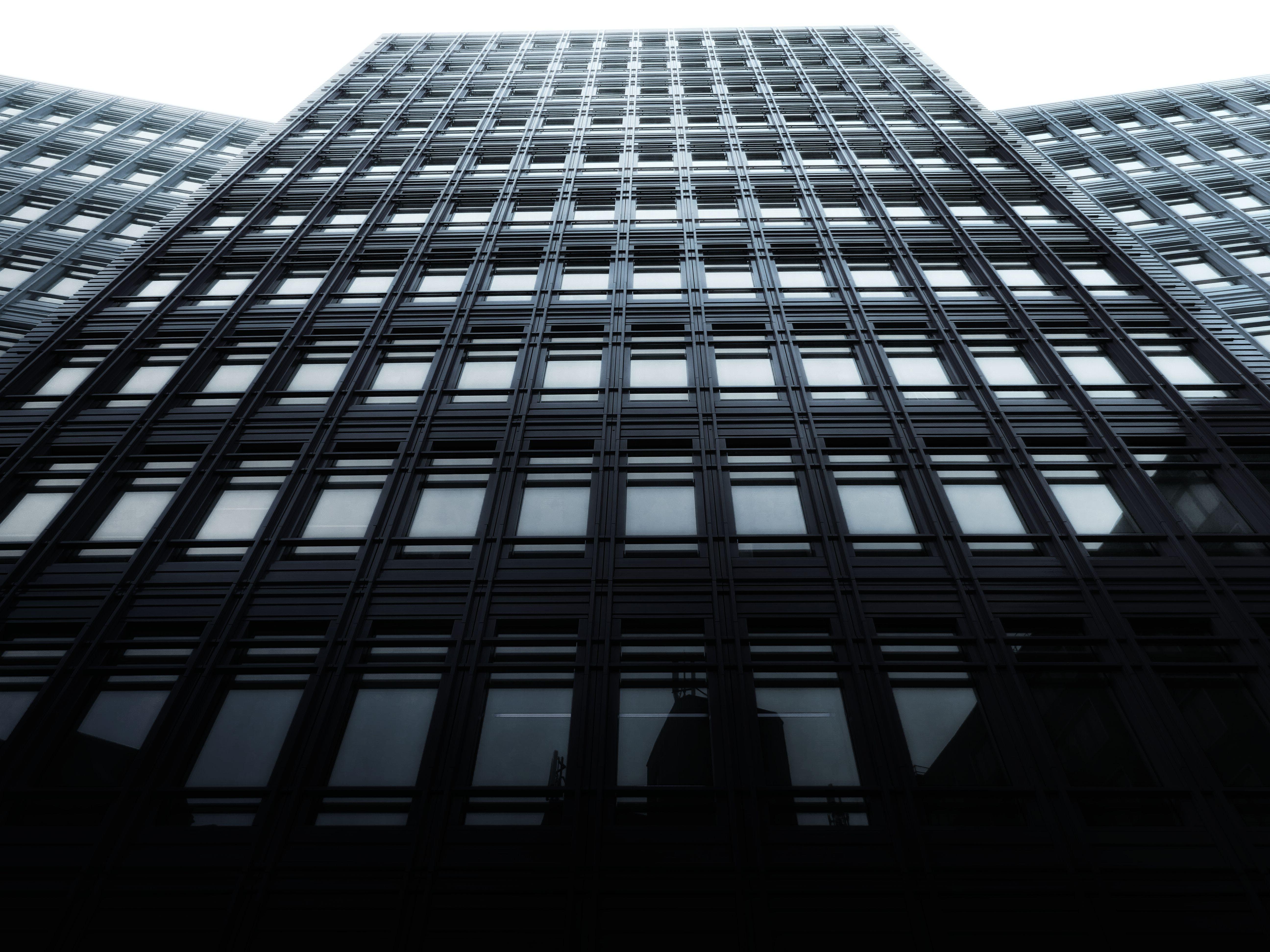 Kostenloses Stock Foto zu architektur, architekturdesign, aufnahme von unten, bau