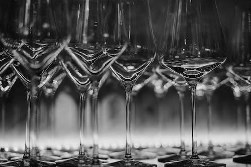 Бесплатное стоковое фото с винные бокалы, кристалл, м.т.
