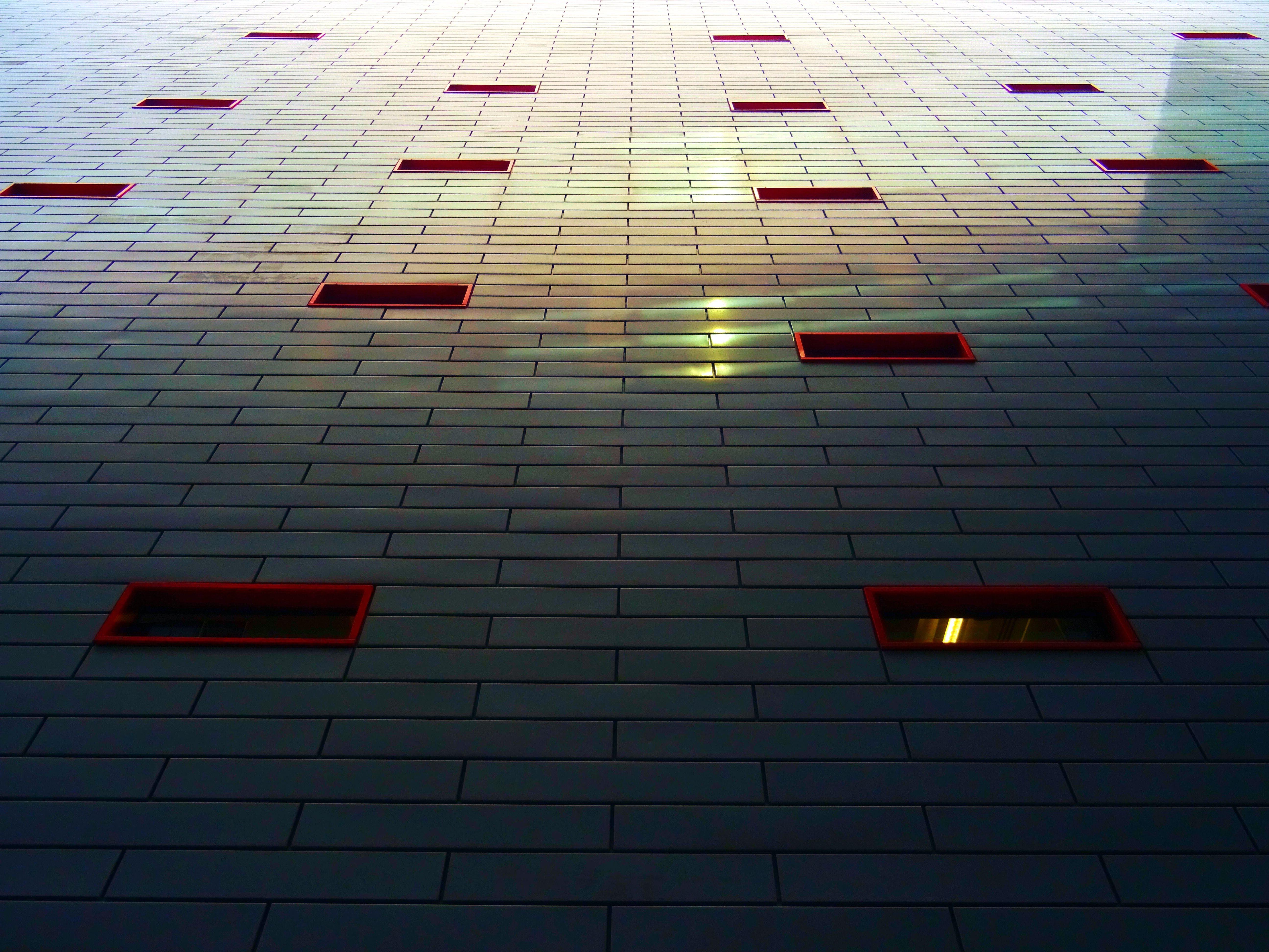Kostenloses Stock Foto zu architektur, aufnahme von unten, design, farbe
