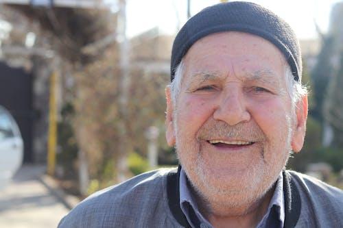 Free stock photo of beautiful smile, grandfather, grandpa, old man
