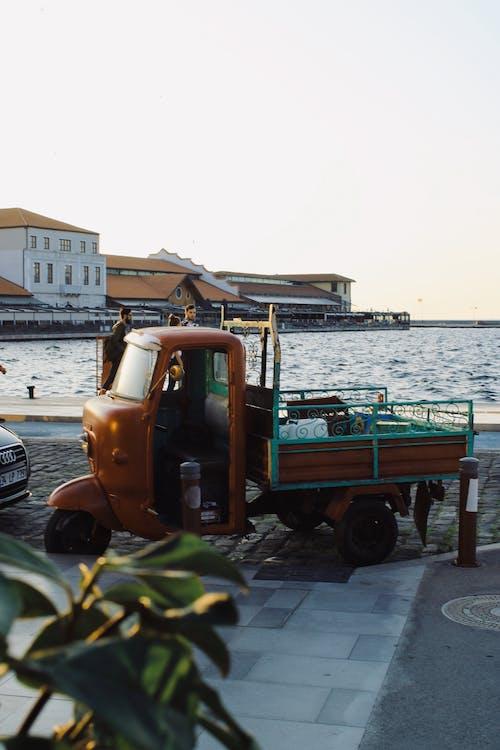 Gratis lagerfoto af aftale, årgang, auto rickshaw, bil