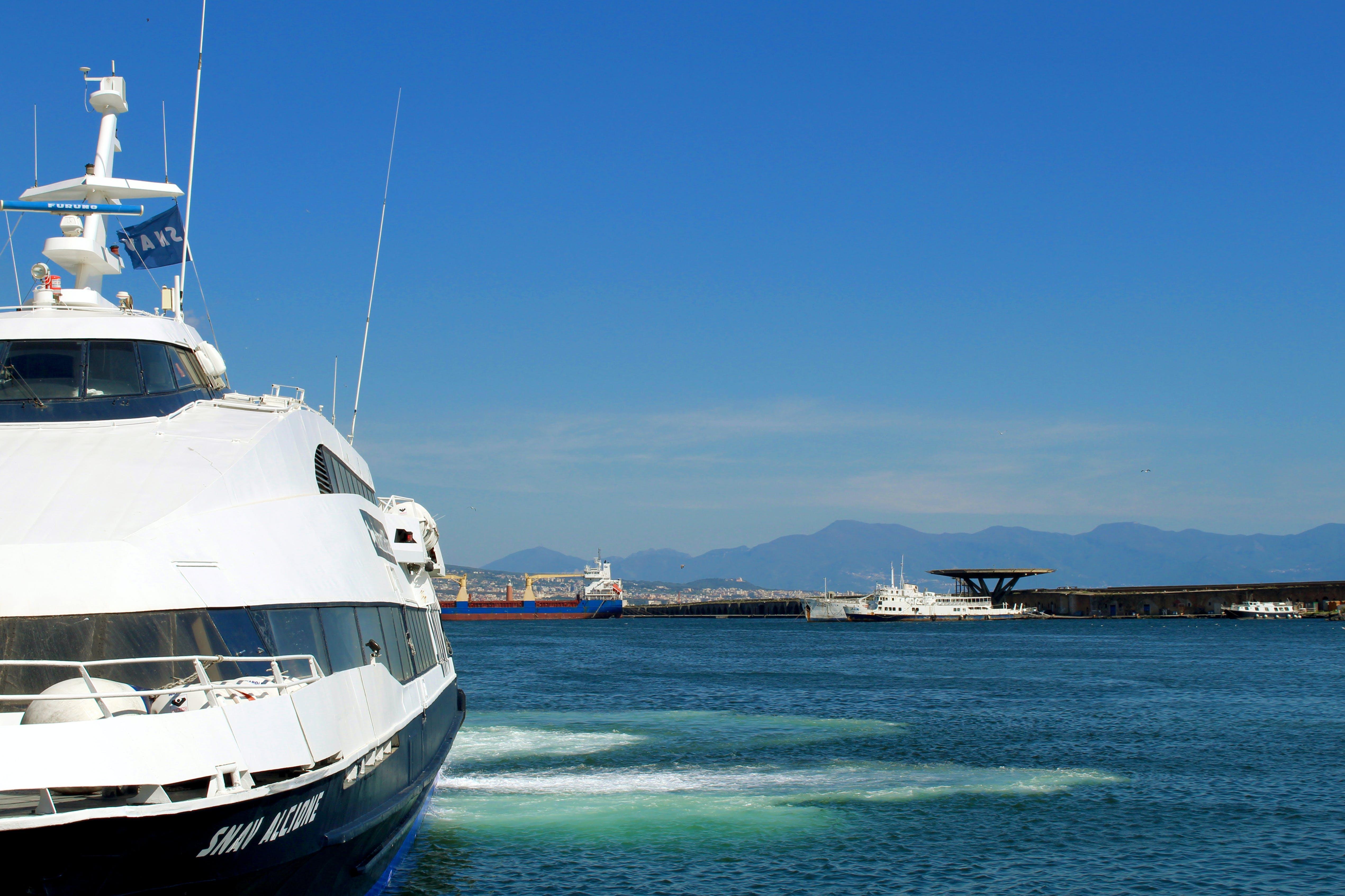 Free stock photo of background, boat, marine, ocean