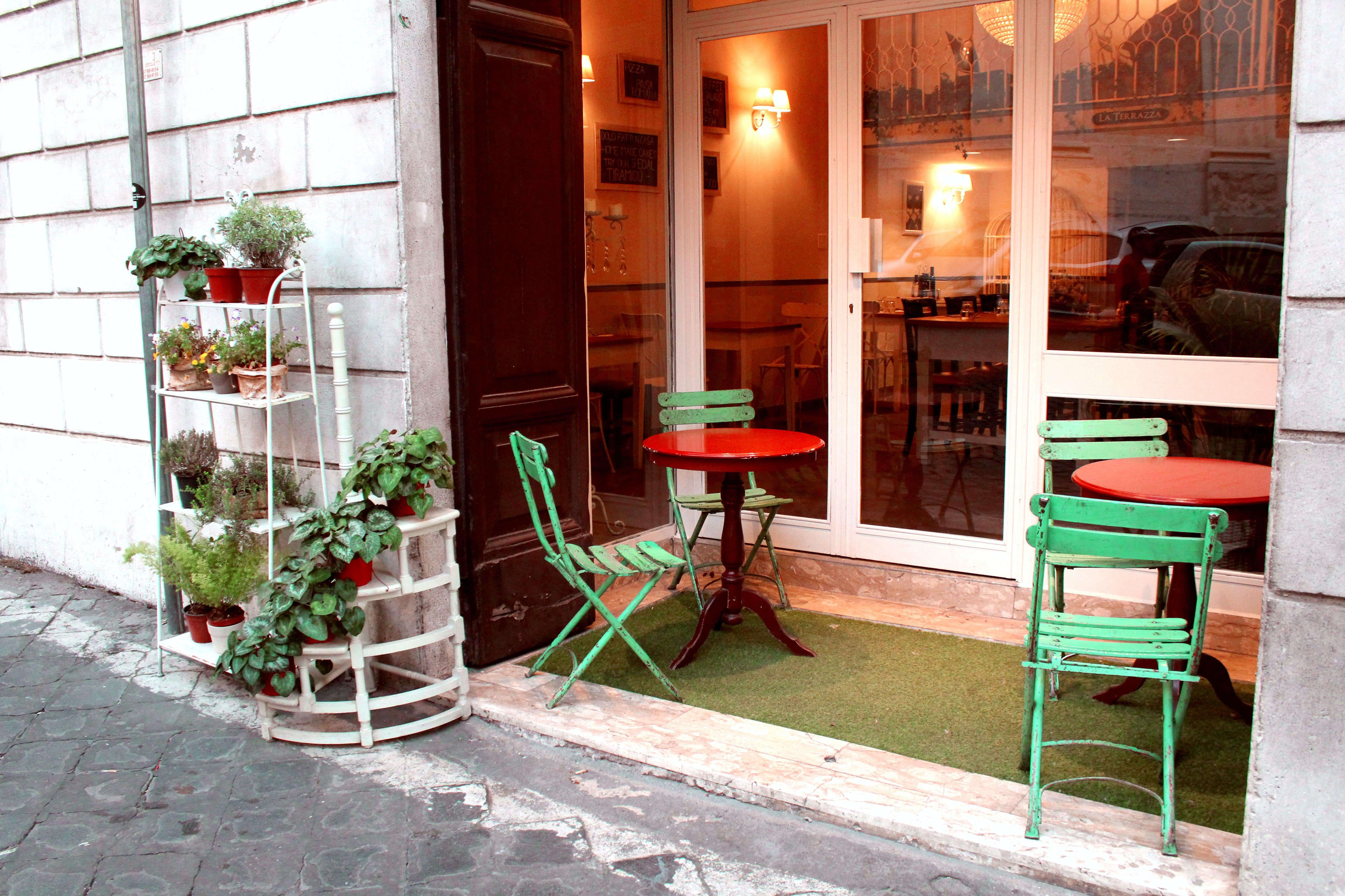 Základová fotografie zdarma na téma restaurace, ulice, vchod, večeře