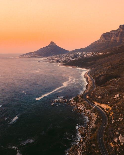 Gratis arkivbilde med Cape Town, fjellutsikt, kystvei