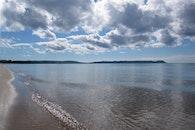 beach, lake, michigan