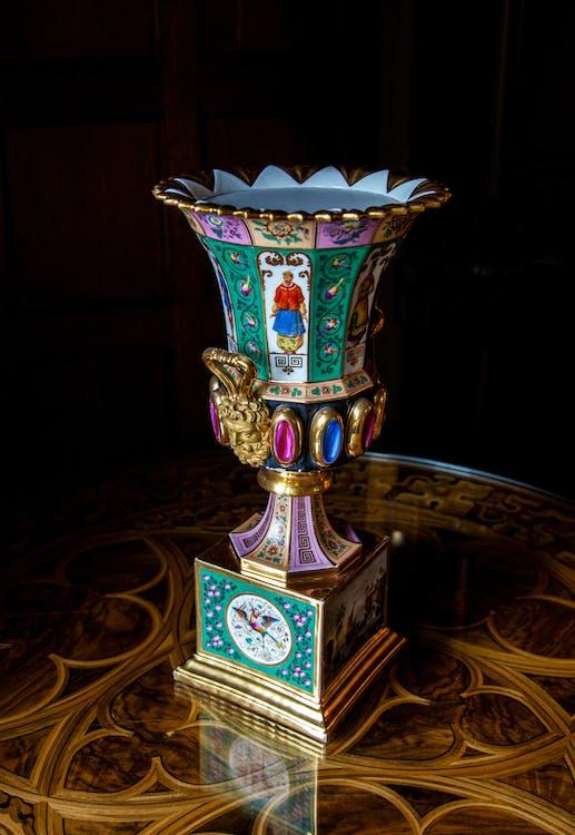 Antique Ornate Goblet