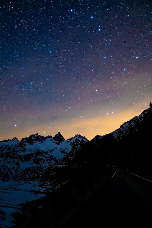 คลังภาพถ่ายฟรี ของ früher morgen, nachthimmel, sternbild