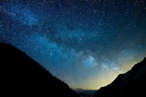 คลังภาพถ่ายฟรี ของ milchstrasse, nachthimmel, sterne