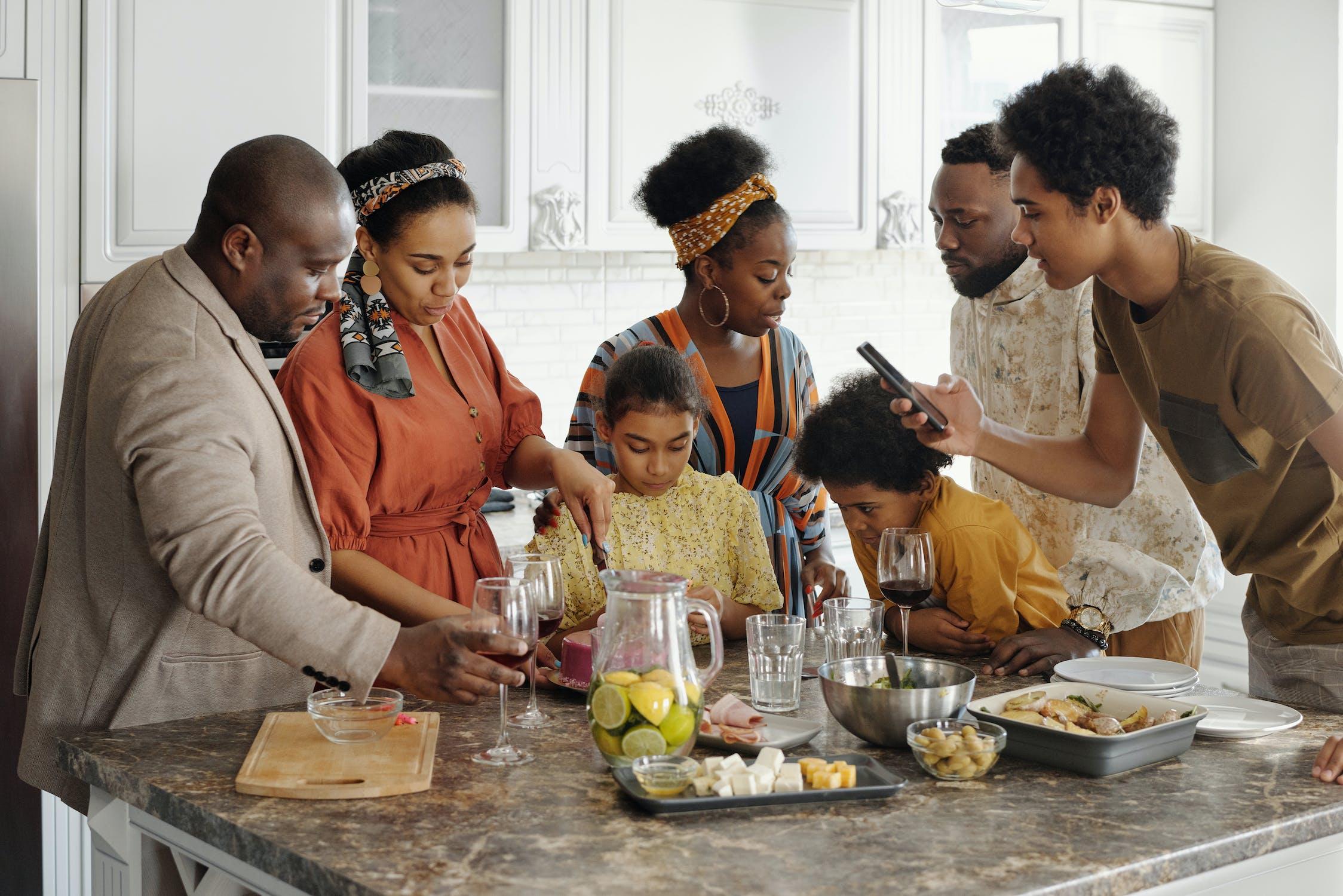 family party kitchen appliances