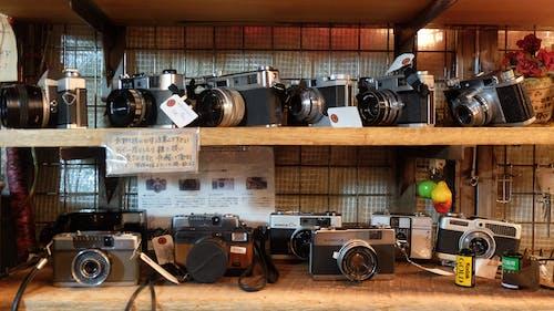 Free stock photo of antique shop, antique shopping, camera