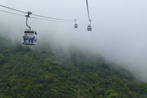 Free stock photo of air travel, cable car, cable car ride