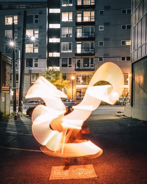 Základová fotografie zdarma na téma architektura, barva, blesk