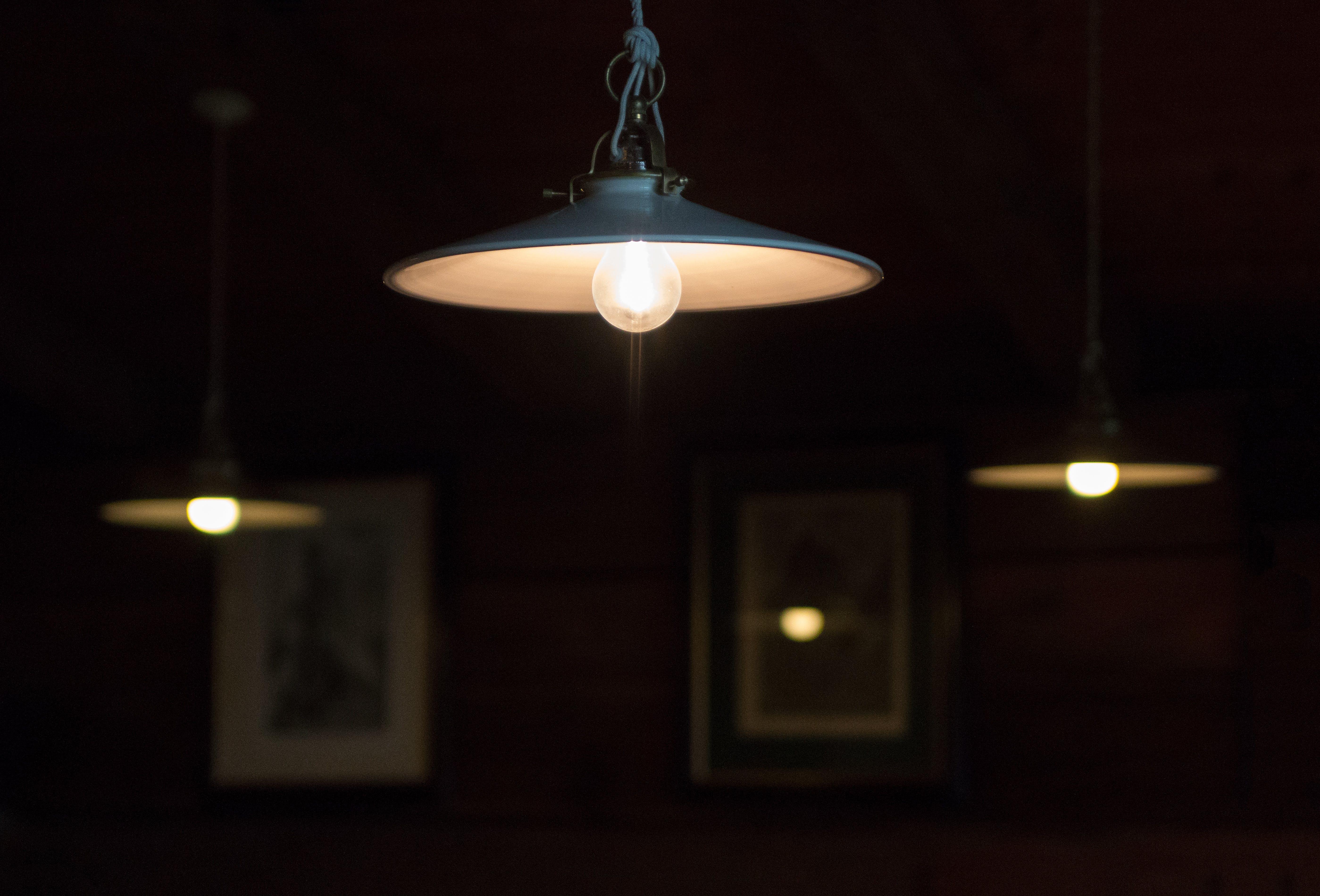 blur, bulbs, decoration