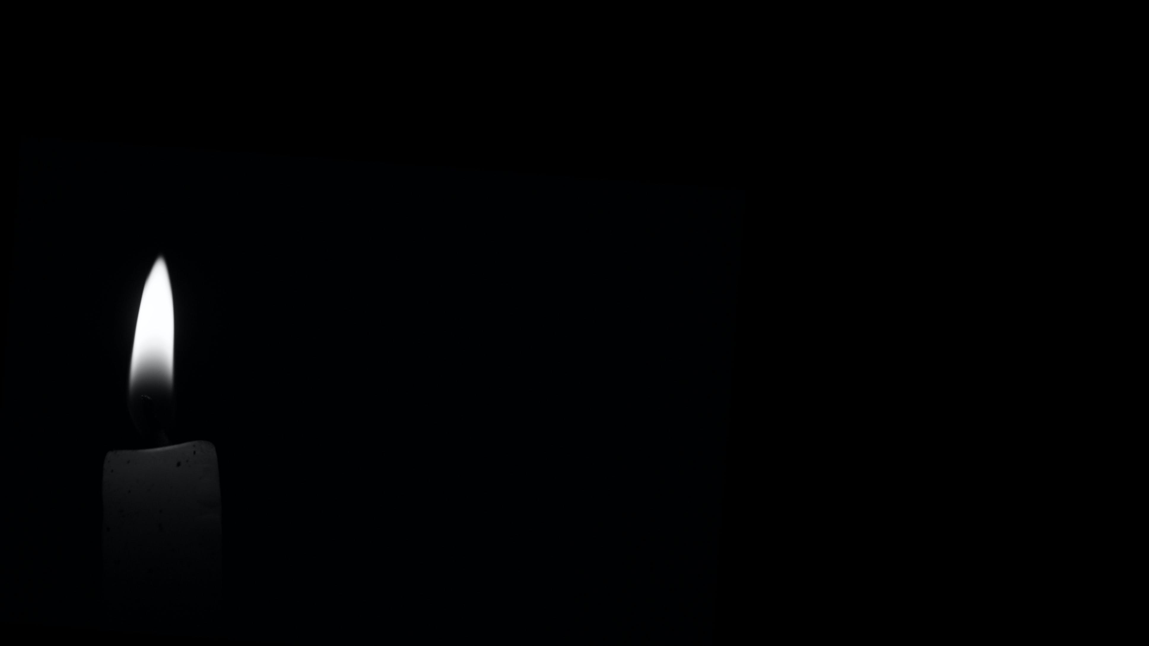 darkness dark candle black