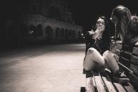 bench, city, fashion