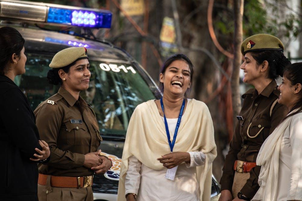 Indian Police @pexels