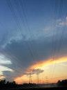 dawn, sky, clouds
