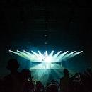hands, people, lights