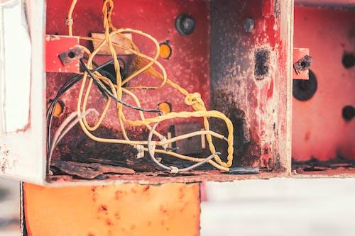 Foto profissional grátis de cabos, elétrico, eletrônico, fios