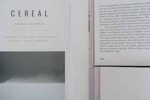 A Close-Up Shot of Open Books