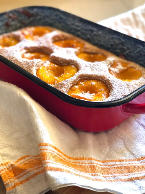 Free stock photo of baking, cake, peach