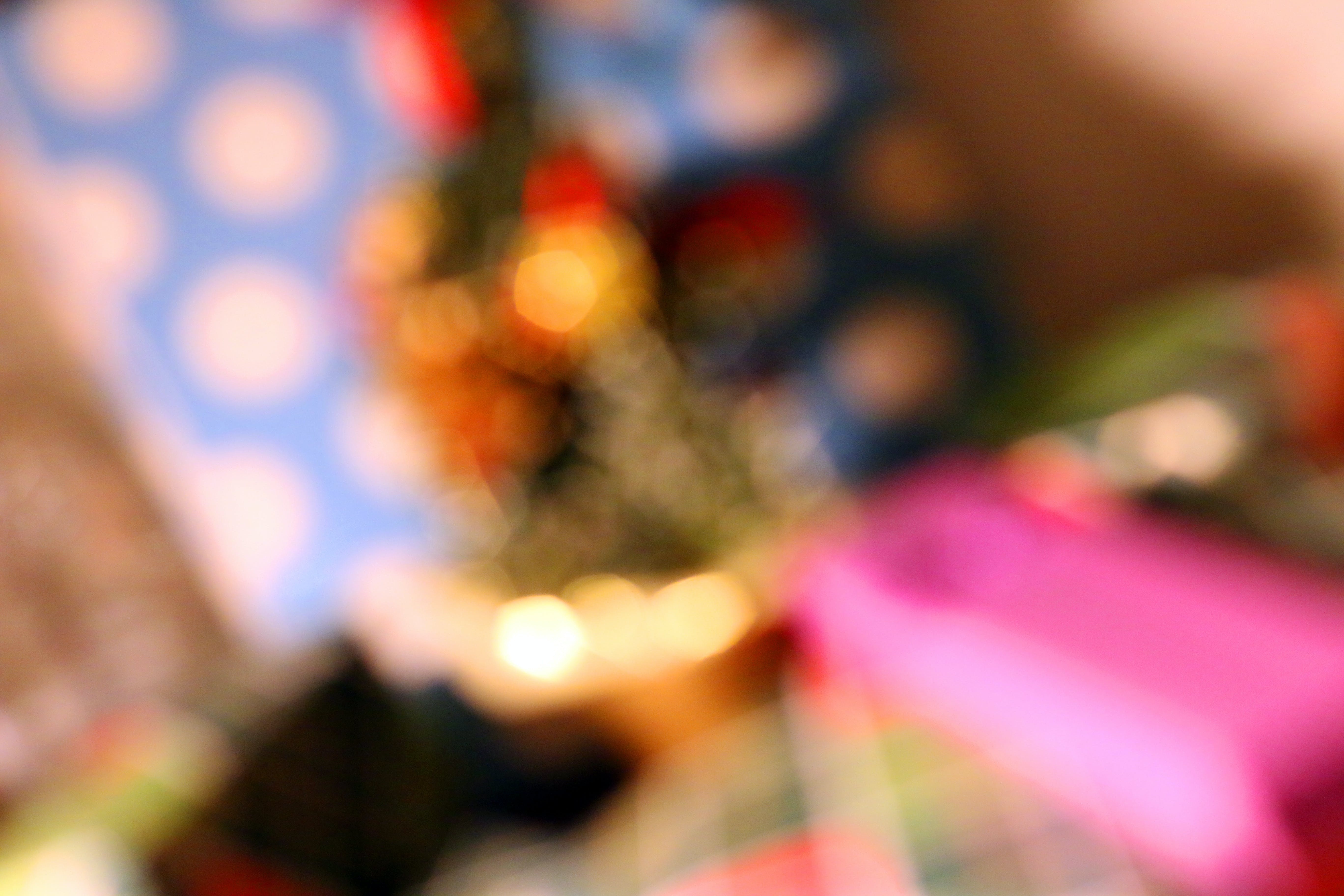 A Blurry Image of Gifts