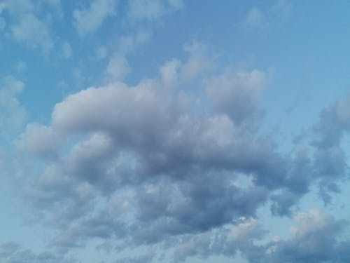 Free stock photo of blue sky, cloud, cloudy, cloudy skies