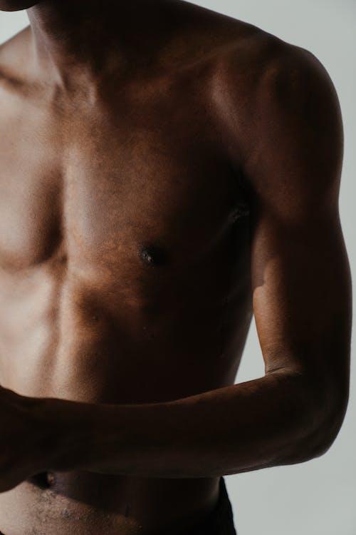 おとこ, 上半身裸, 体, 形での無料の写真素材