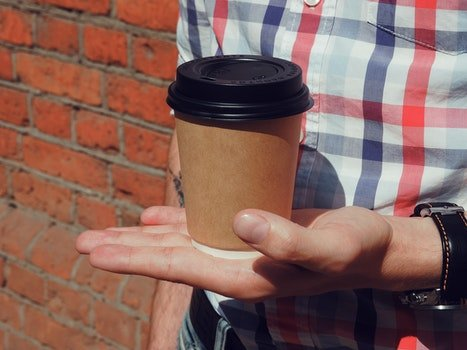 Free stock photo of man, person, red, coffee
