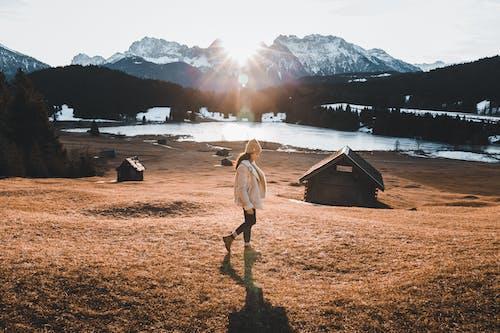 Gratis stockfoto met 1 persoon, Alpen, avontuur, beanie