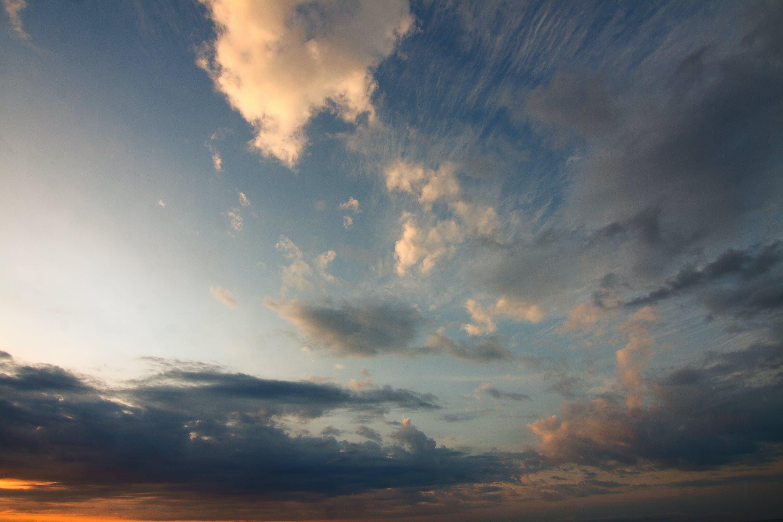 cloud formation, clouds, dawn
