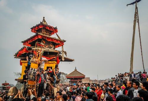 Free stock photo of bhaktapur, bisket jatra, festival