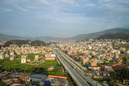 Free stock photo of aerial shot, bhaktapur, city