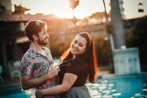 Photo of Couple Smiling