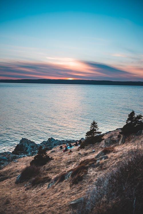 カラフル, さざ波, シースケープの無料の写真素材