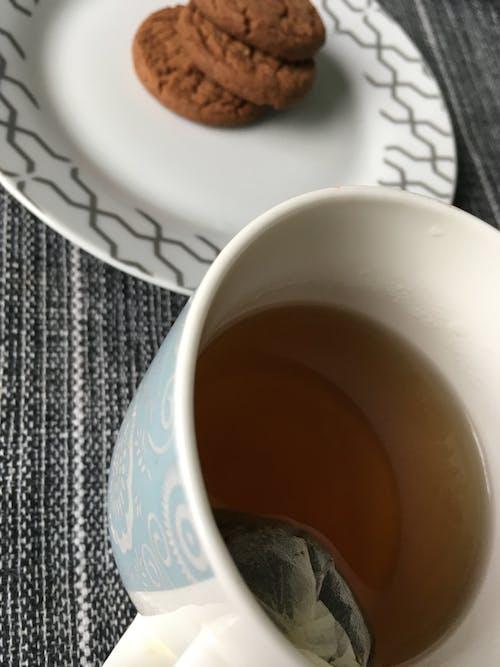 Photos gratuites de biscoito, biscuits, cha, chá da tarde