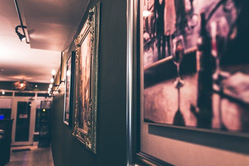 그림, 남자, 방, 복도의 무료 스톡 사진