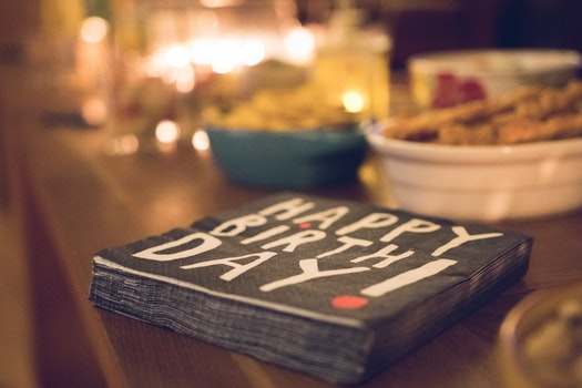 Free stock photo of food, party, table, blur