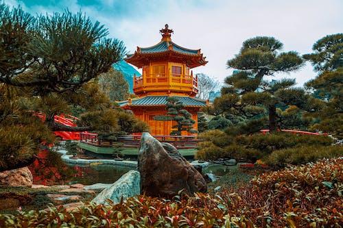 Darmowe zdjęcie z galerii z architektura azjatycka, azja, budda, buddyzm