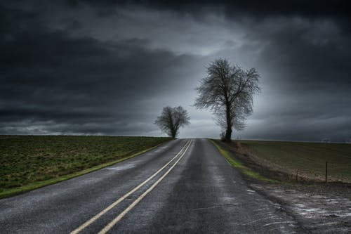 Free stock photo of Storm Road