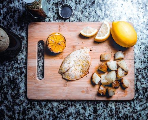 คลังภาพถ่ายฟรี ของ การคุมอาหาร, การทำอาหาร, ชิ้น, ทำด้วยไม้