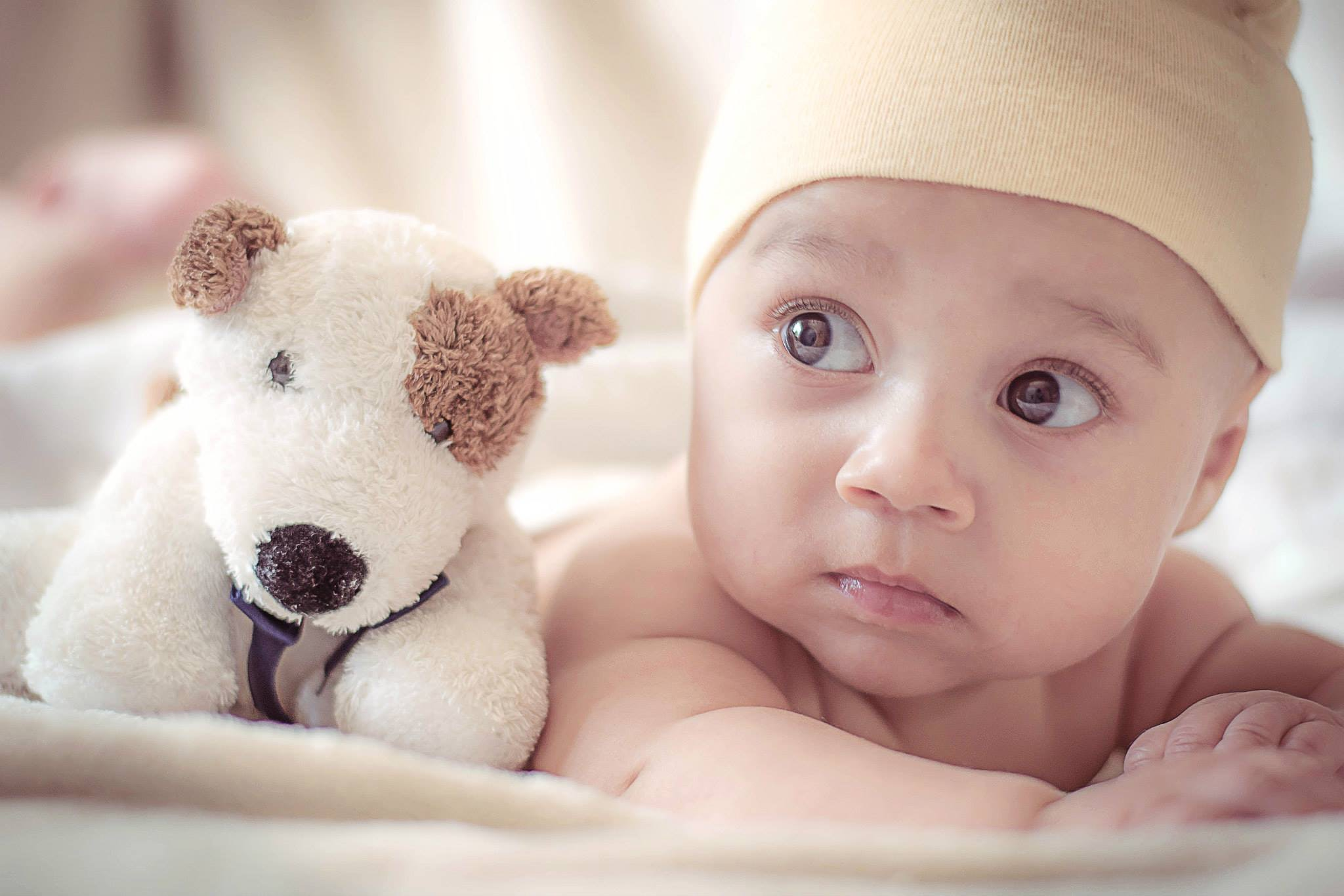 free stock photo of adorable, baby, blur