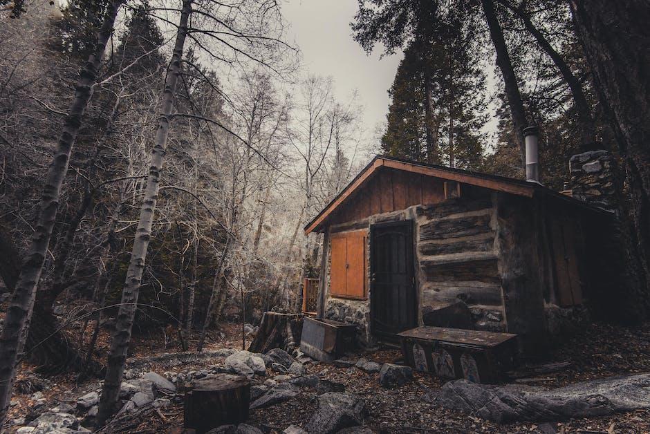 abandoned, broken, cabin