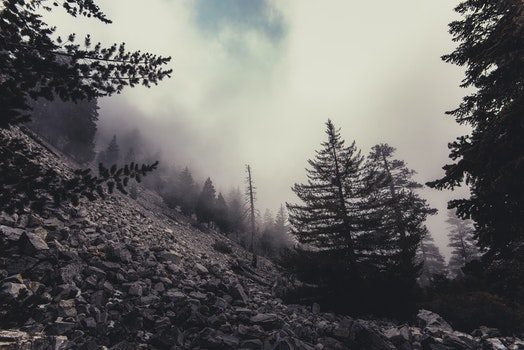 Free stock photo of cold, landscape, nature, clouds
