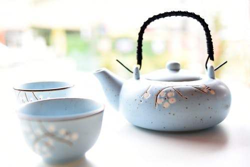 Floral Ceramic Tea Set