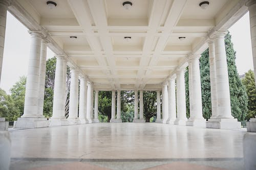 Free stock photo of architectural building, column, columns