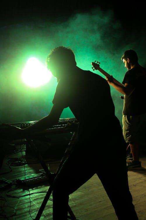 Free stock photo of concert, guitar, keyboard
